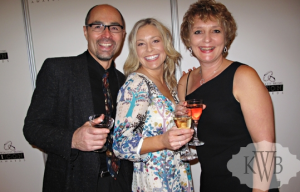 Floral & Decor designers David & Marilyn of Richfield Flowers and Events (left and right) with photographer Kelly Brown of Kelly Brown Weddings (center) at Twin Cities Bridal Association ICON Awards Event